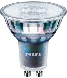 Philips Master LED GU10, ExpertColor CRI97, 5.5W, 4000K, 25D, Dimmable