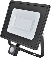 Eveready LED Flood Light, 50W, 4000K, 4000lm, IP44, PIR SENSOR