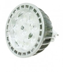 Emprex LED MR16, Spotlight, 4W, Cool White, Not Dimmable