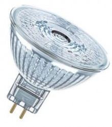 Osram LED MR16, 4.6W=35W, 3000K, 36D, Non Dimmable