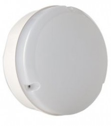 Mosi LED IP65 Bulkhead, 9W, 4000K, 200mm dia