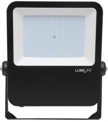 LumiLife SMD LED Flood Light, 100W, 3000K, 12000lm, IP65, 5yrs