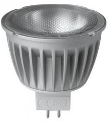 Megaman LED MR16 Spot, 6W, 2800K, 36D, Not Dimmable