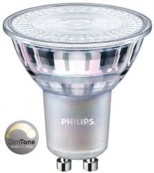 Philips MasterLED VLE CRI90 GU10, 4.9W, 2700K-2200K *DIMTONE*