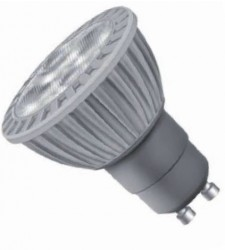 Infinity Coloured LED GU10, 7W, 630lm, Dimmable, RED Beam