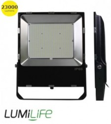 LumiLife SMD LED Flood Light, 200W, 6000K, 23000lm, IP65, Meanwell