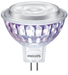 Philips Master LED Value, MR16, 7W=50W, 3000K, 36D, Dimmable