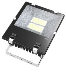 LED Floodlight, *SLIMLINE*, 150W, IP65, COLOURED BEAM