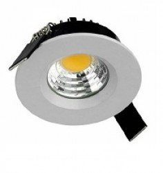 Recess LED Downlight, 8W, WHITE, IP54, Dimmable