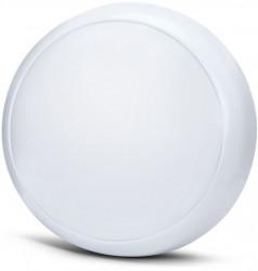 MEGE LED 2D LED Bulkhead, 15W, IP54, 5yrs, MWS & EM3