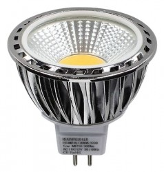 Heathfield LED MR16 COB, 5W=35W, 6000K, 90D, Not Dimmable