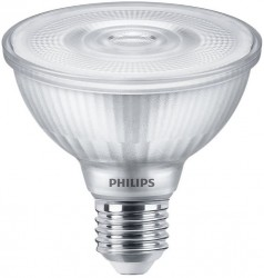 Philips Master LED Classic PAR30S, 9.5W=75W, 3000K, 25D, Dimmable