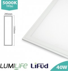 LUMiLife LED Panel, 1200x300, 40W, 5000K, Lifud, TPb, IP40, 5yrs