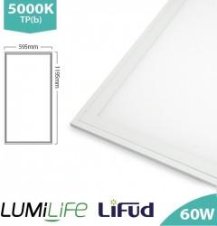LUMiLife LED Panel, 1200x600, 60W, 5000K, Lifud, TPb, IP40, 5yrs