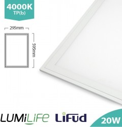 LUMiLife LED Panel, 300x600, 20W, 4000K, Lifud, TPb, IP40, 5yrs