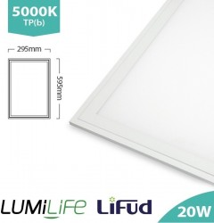 LUMiLife LED Panel, 300x600, 20W, 5000K, Lifud, TPb, IP40, 5yrs