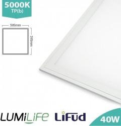 LUMiLife LED Panel, 600x600, 40W, 5000K, Lifud, TPb, IP40, 5yrs