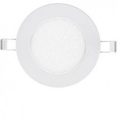LUMiLife 6W LED Round Panel, IP20, 103mm Cut-Out, 5yrs