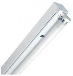 Status LED IP20 Single Batten with LED Tube, 2ft, 9W, 750lm, 4000K