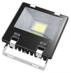 LED Floodlight, *SLIMLINE*, 70W, IP65, COLOURED BEAM