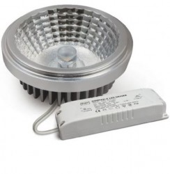 Crompton LED Dimmable AR111 10W, 2700K, 30Deg, includes LED Driver