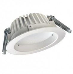 Recess LED Downlight, 15W, WHITE, IP54, Dimmable