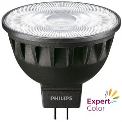 Philips Master LED MR16, ExpertColor CRI97, 6.5W, 3000K, 60D, Dimmable