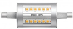 Philips CorePro LED Linear R7S, 7.5W-60W, 78mm, 4000K, No Dim