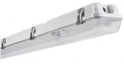 Osram LEDVANCE Damp Proof IP65 LED Tube Ready Housing, 2ft Twin