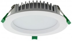 LUMiLife LED Downlight, 35W, IP54, Dimmable, White, 165mm Cutout