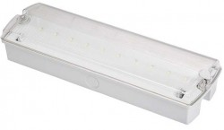 Lumilife 4W LED Emergency IP65 Bulkhead Maint/Non-maint