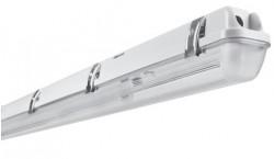 Osram LEDVANCE Damp Proof IP65 LED Tube Ready Housing 2ft Single