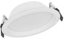 LEDVance LED Downlight IP44, 14W, 3000K, 1190lms, 150mm hole, DALI