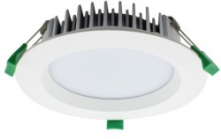 LUMiLife LED Downlight, 18W, IP54, Dimmable, White, 145mm Cutout