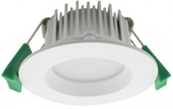 LUMiLife LED Downlight, 7W, IP54, Dimmable, White, 65mm Cutout