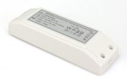Dimmable 20W LED Transformer / Driver, 12V Output, IP20