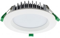 LUMiLife LED Downlight, 25W, IP54, Dimmable, White, 145mm Cutout