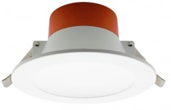 LUMiLife LED Downlight, 10W, IP54 Fascia, Dimmable, 90-95mm Cutout