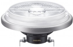 Philips Master LED AR111, 20W-100W CRI91, 3000K 24D, Dimmable