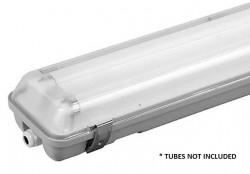 LumiLife LED-Ready IP65 Non-Corrosive Tube Fitting, 5ft Twin