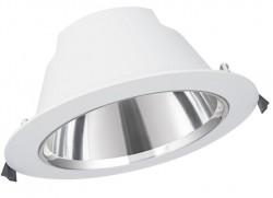 LEDVance LED Downlight Comfort, IP54, 20W, CCT-Switch, 205mm hole