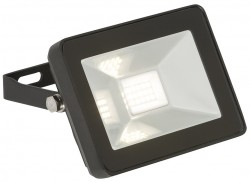 MLA 230V IP65 10W LED Black Die-Cast FLF10 Floodlight 4000K, 1150lm