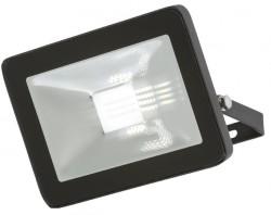 MLA 230V IP65 20W LED Black Die-Cast FLF20 Floodlight 4000K, 2240lm