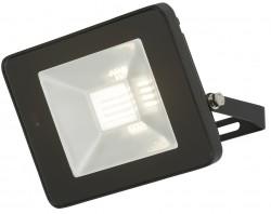 MLA IP65 LED Black 20W Floodlight 4000K, w/Microwave Sensor, FLF20M