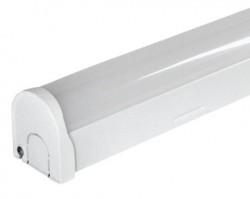 Heathfield Beech LED IP20 Batten, 5ft, 45W, 4000K, Emergency