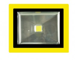 Site Safe LED Floodlight, 110VAC, 50W, 4000K