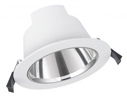 LEDVance LED Downlight Comfort, IP54, 13W, CCT-Switch, 130mm hole