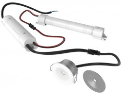 Venture LED Recess Emergency Downlight, 3hr, 3W, EMG013