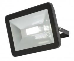 MLA 230V IP65 80W LED Black Die-Cast FLF80 Floodlight 4000K, 7740lm