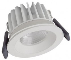 Osram LEDVance Spot, 8W, IP65 Fire-Rated, 3000K, White, Dimmable